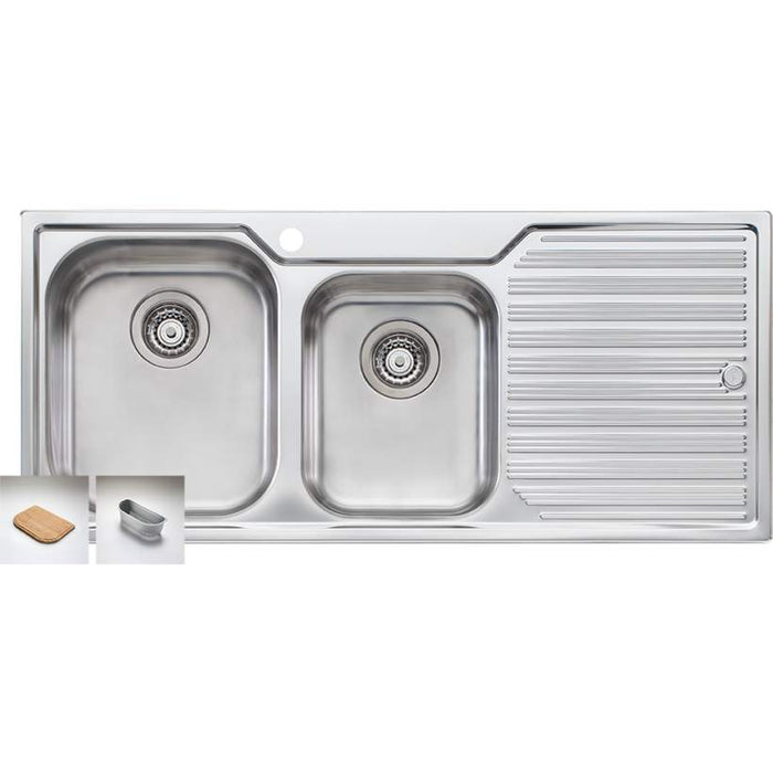 Diaz 1 & 3/4 Bowl Inset Sink