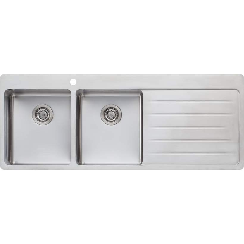 Sonetto Double Bowl Inset Sink