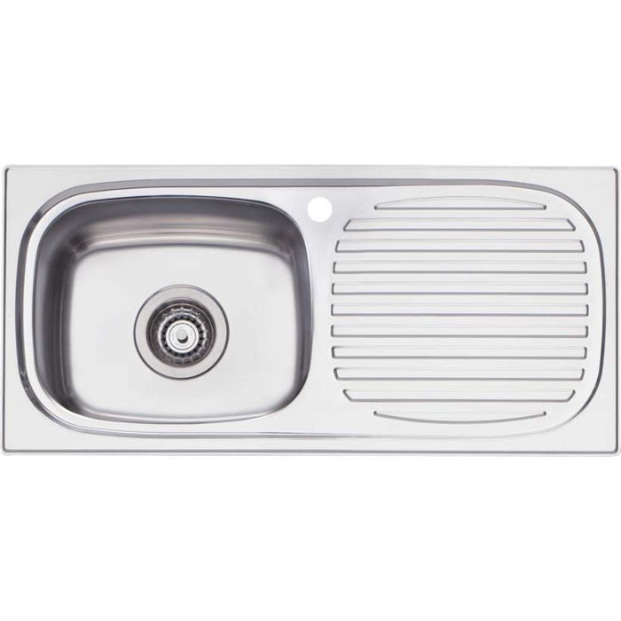 Martini Single Bowl Inset Sink