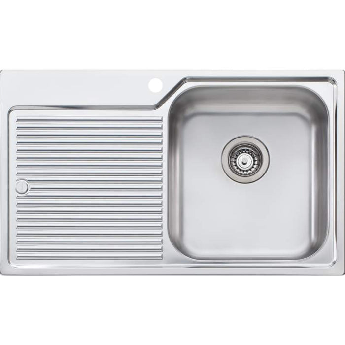 Nu-Petite Single Bowl Inset Sink With Drainer