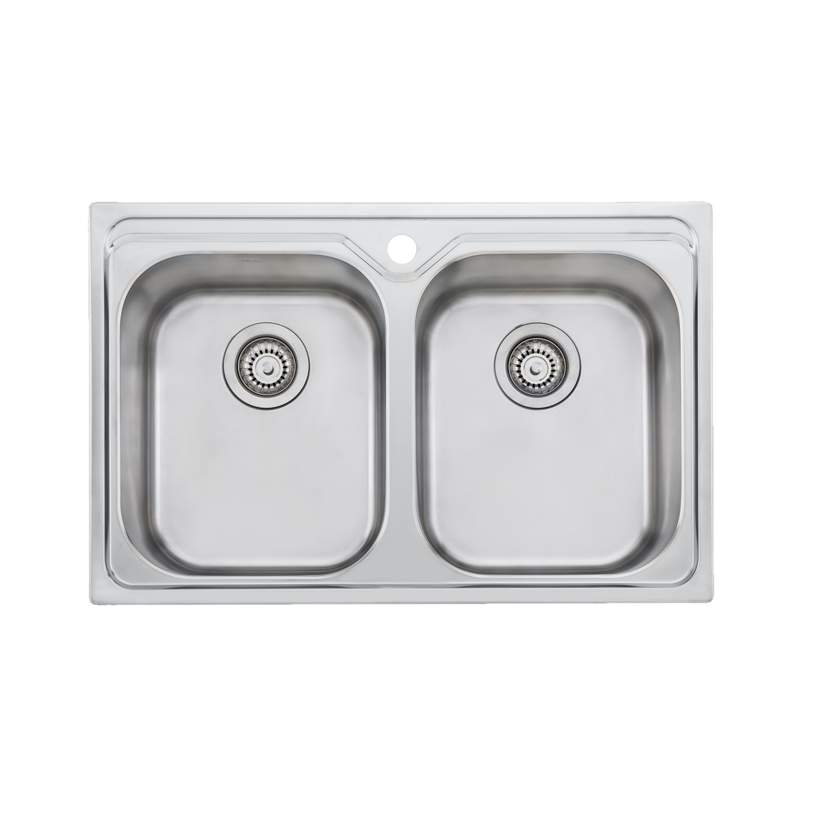 DZ23TU Universal Double Bowl Sink