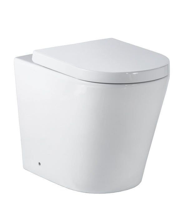 Modia Floor Mount In Wall Toilet Suite