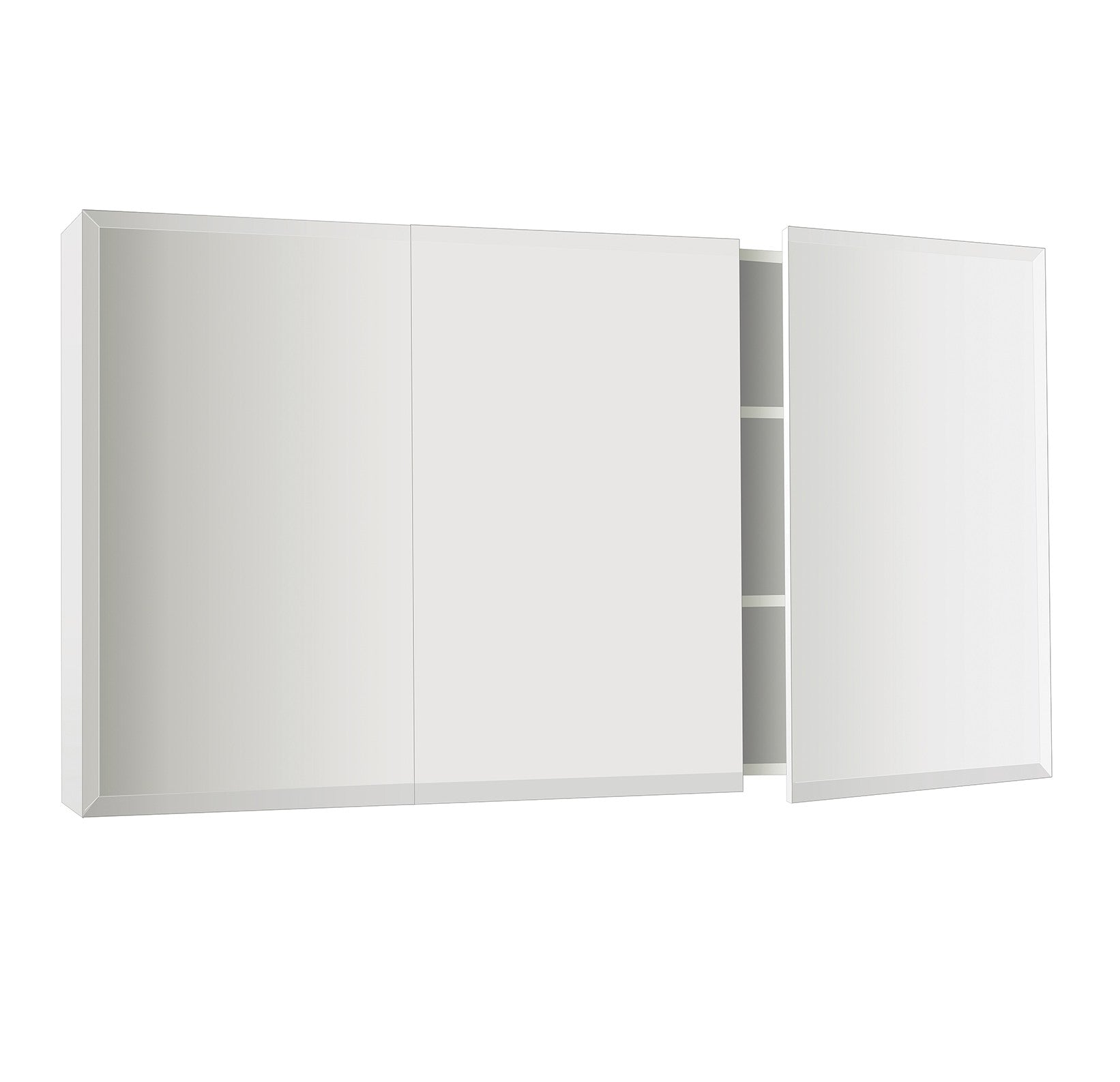 Bevelled Edge Mirror Cabinet