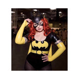 Latex Batgirl Outfit - Bodysuit / Belt / Cape / Gloves
