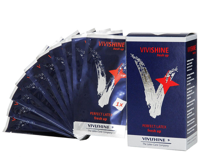 Vivishine Fresh Up Wipes / Polish 10 Pack