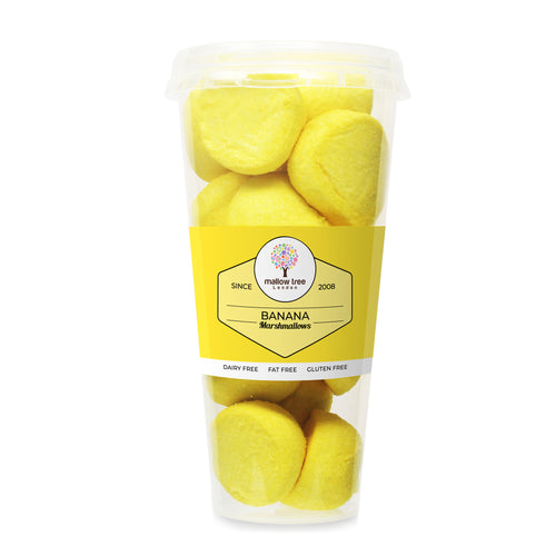 Banana Flavoured Marshmallow Balls in a Cup 135 g