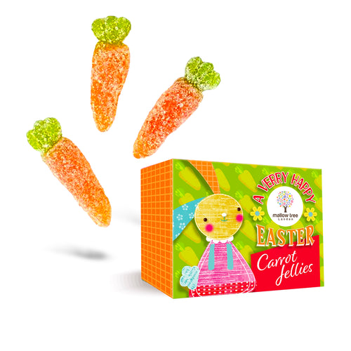 Vegan Jelly Carrots in a Snack Box
