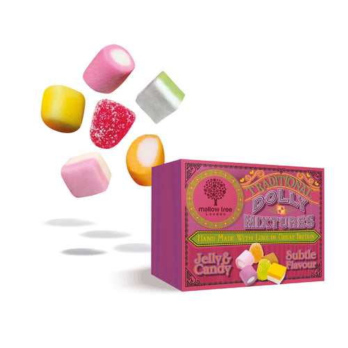 Traditional Dolly Mixture in a Snack Box x10