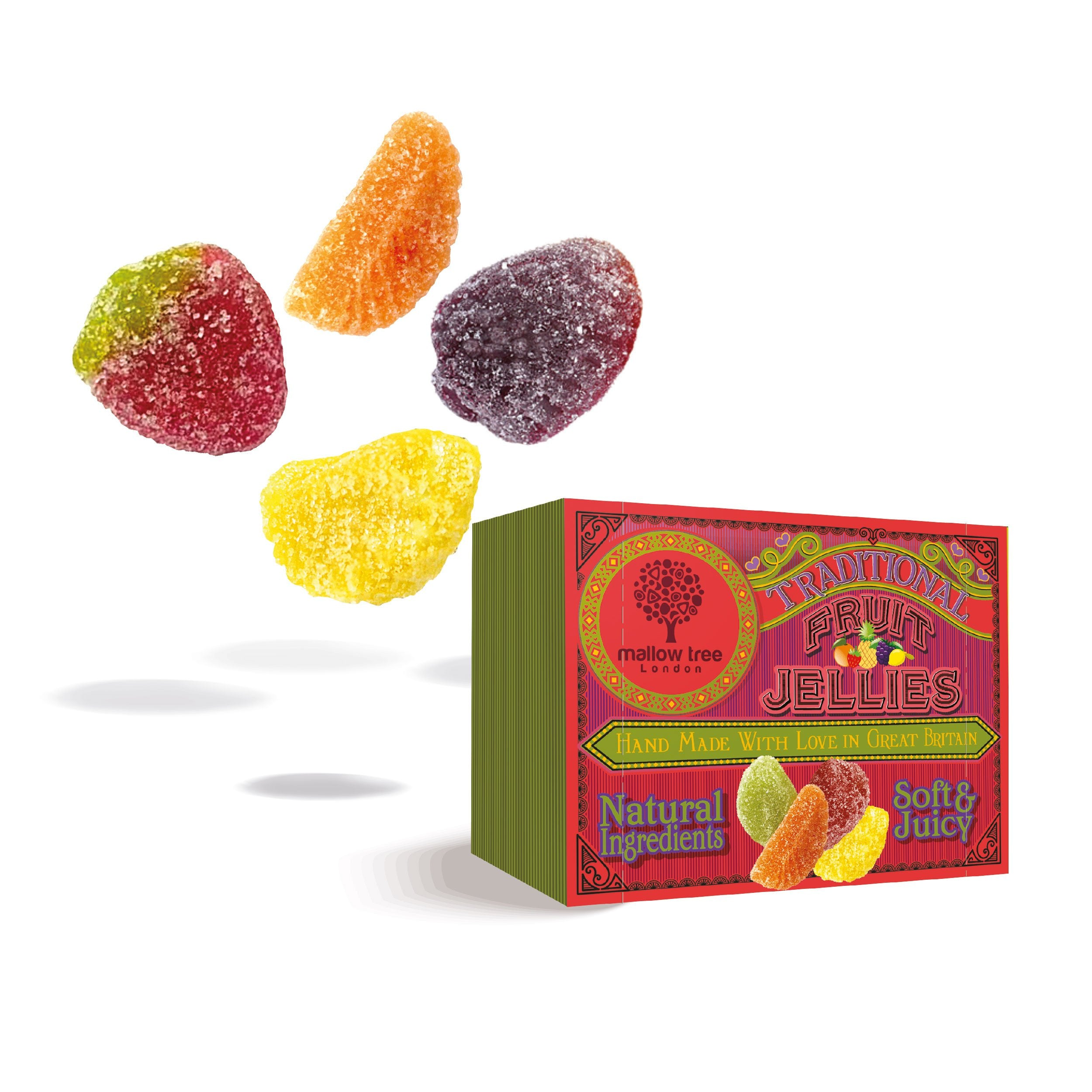 Assorted Fruit Jellies in a Snack Box x10