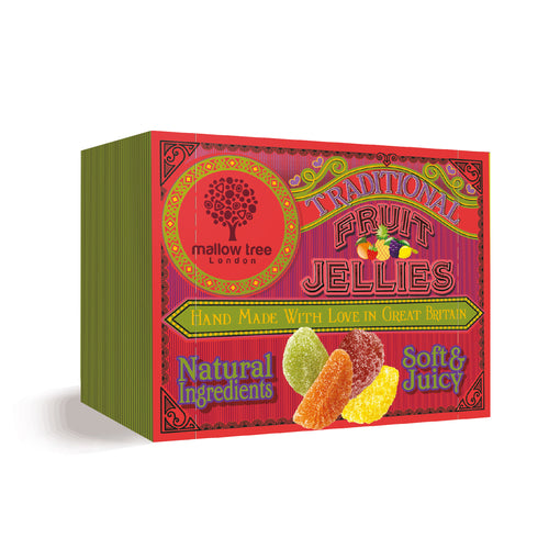 Assorted Fruit Jellies in a Snack Box