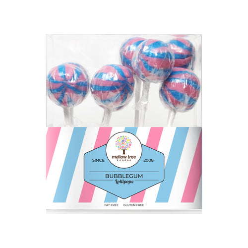 Bubblegum Flavoured Lollipops in a Gift Box 200 g