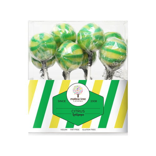 Citrus Flavoured Lollipops in a Gift Box 200 g