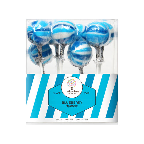 Blueberry Flavoured Lollipops in a Gift Box 200 g