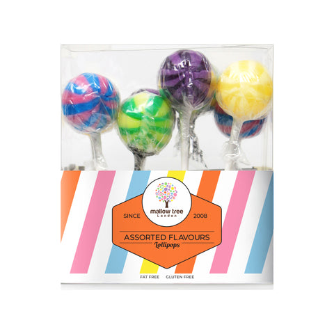 Sour Cherry Flavoured Lollipops in a Gift Box 200 g