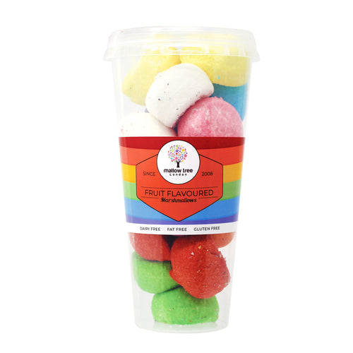 Assorted Flavoured Marshmallow Balls in a Cup 135 g