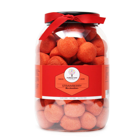 Vanilla Flavoured Mini Marshmallows in a Gift Jar 600 g
