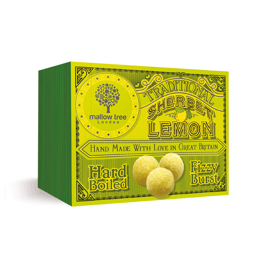 Traditional Sherbet Lemons in a Snack Box
