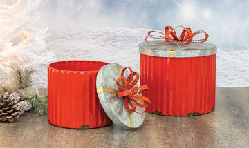 Christmas Canister