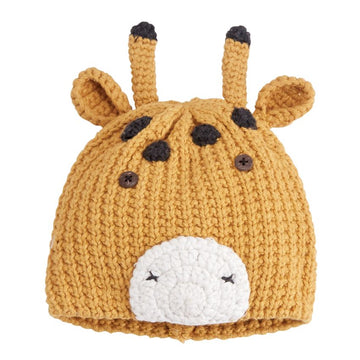 Giraffe Knitted Hat