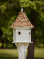 "Bluebird House 14"" Octagon Slope 4 Copper Portals"