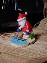 Santa Sandpipers Ornament