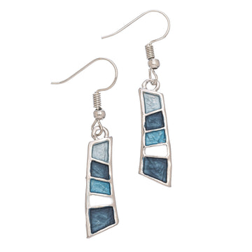 4 Blue Shade Earrings