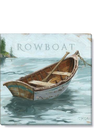 Rowboat Giclee Wall Art