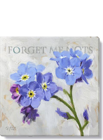 Forget Me Not Giclee Wall Art