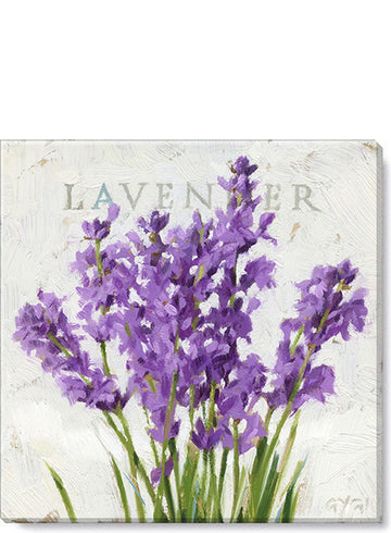 Lavender Giclee Wall Art