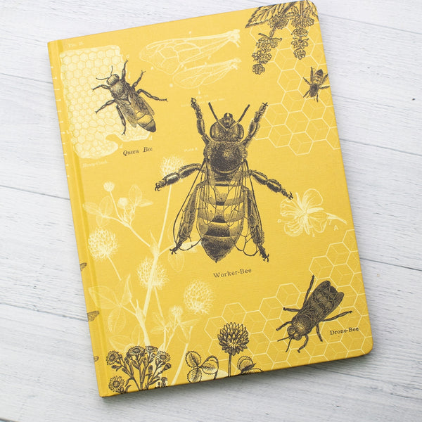 Bees Hardcover Notebook