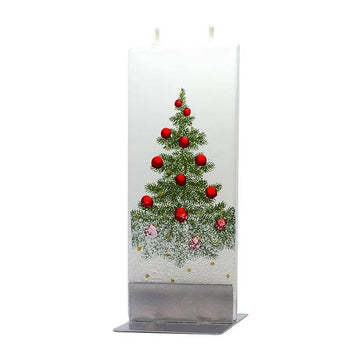 Flat Christmas Tree v2 Candle
