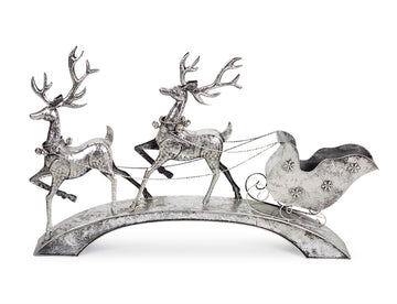 Deer with Sleigh