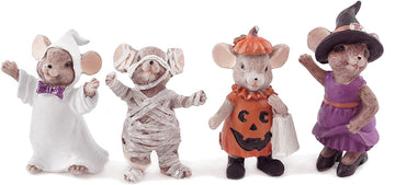 Mice in Costumes Resin
