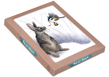 Rabbit Ornament Boxed Cards