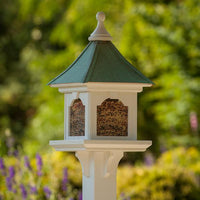 "Bird Feeder PVC 12"" Square Large Capacity"