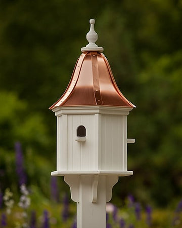 "Bluebird House PVC 12"" Hexagon Perch"