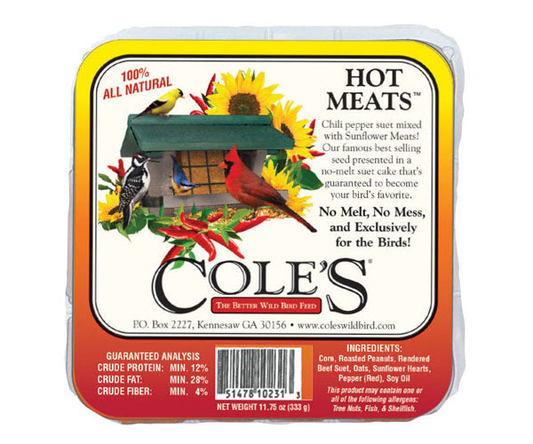 Cole's Hot Meats Suet