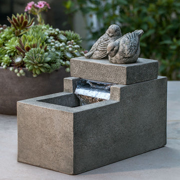 Mini Element Bird Fountain- PRE ORDER - ARRIVES EARLY MARCH 2021