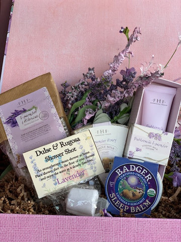 Lavender Stress Relief Deluxe Care Package