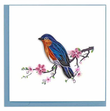 Quilled Bluebird Card