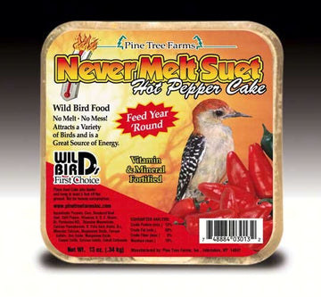 No Melt Suet Hot Pepper