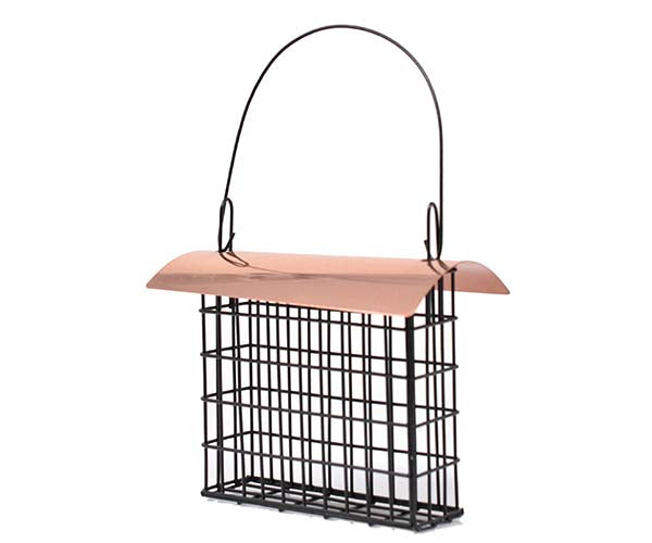Suet Cage Copper Roof