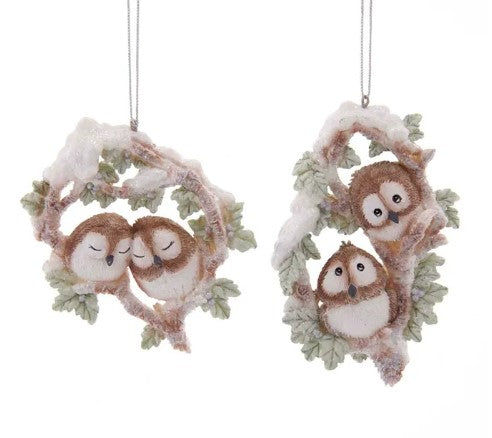 Two Owl Orn Woodland