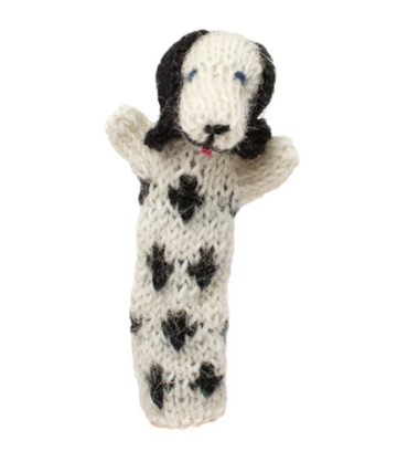 Dalmation Finger Puppet