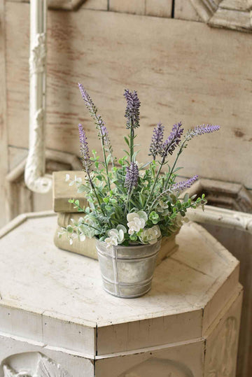 "14"" Potted Lavender Table Arrangment"