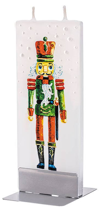 Flat Nutcracker Candle