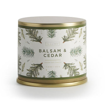 Large Tin Balsam & Cedar