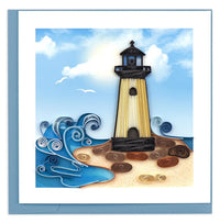 Quilled Lighthouse Card