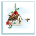 Birdhouse Quill Card