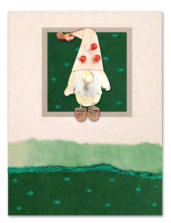 Gnome Pin Card